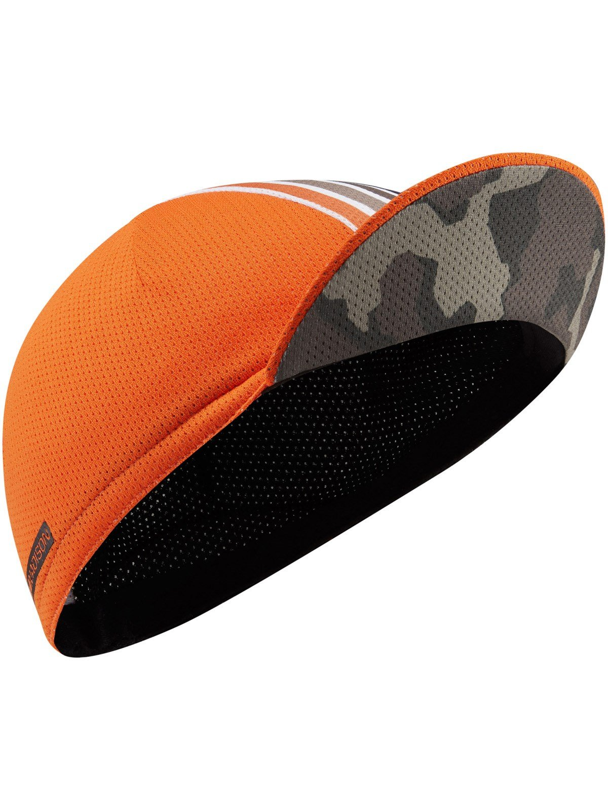 Madison Olive Camo-Shocking Orange 2017 Roadrace Premio Cycling Cap (Default, Orange)