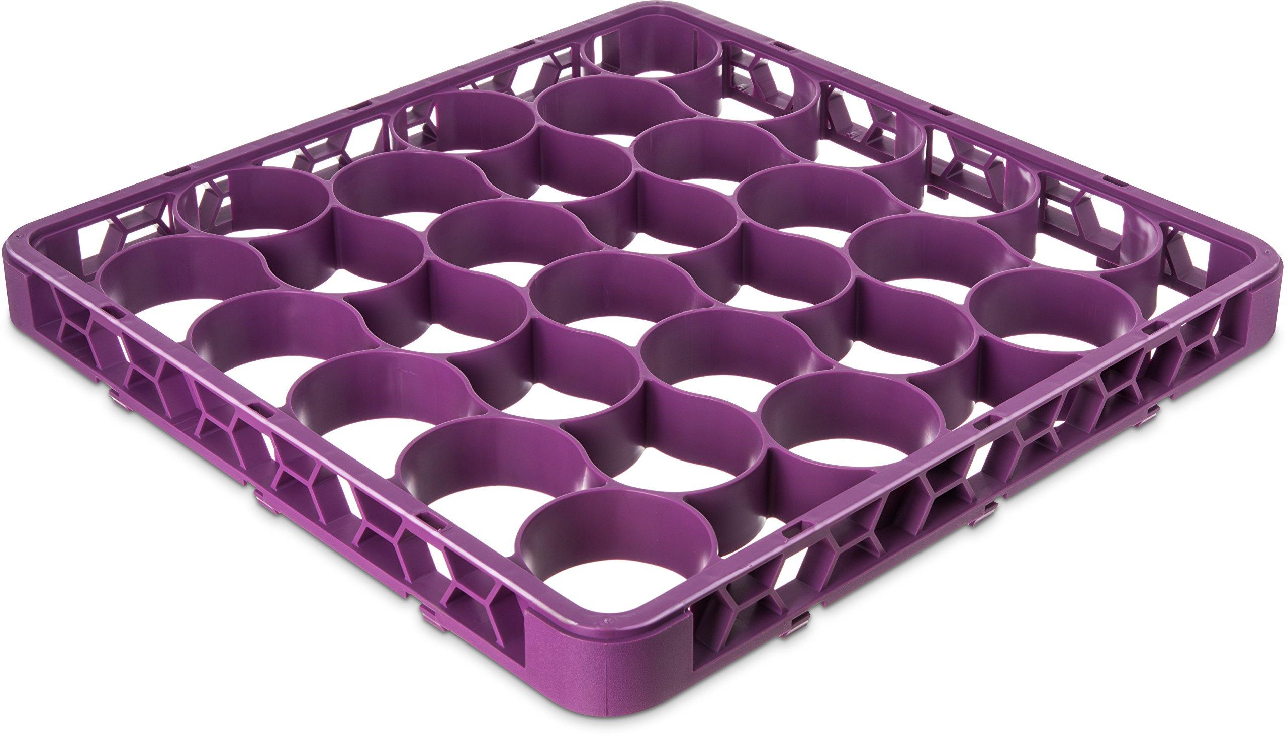 Carlisle REW30SC89 OptiClean NeWave 30 Compartment Glass Rack Extender, Lavender (Pack of 6)