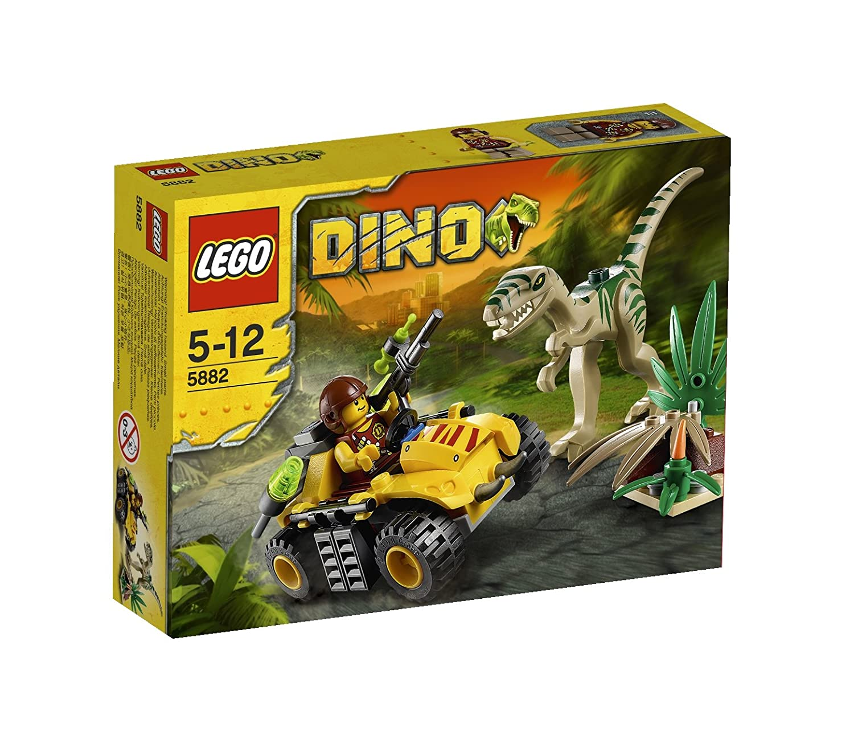 LEGO Dino 5882 - Versteck des Coelophysis 308180 Konstruktionsspielzeug / Modellkästen Konstruktionsspielzeug aus Kunststoff / Modellkästen