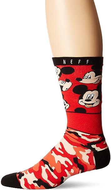 NEFF Mujeres Ropa interior / Moda de baño / Calcetines All Smiles Mickey: Amazon.es: Ropa y accesorios