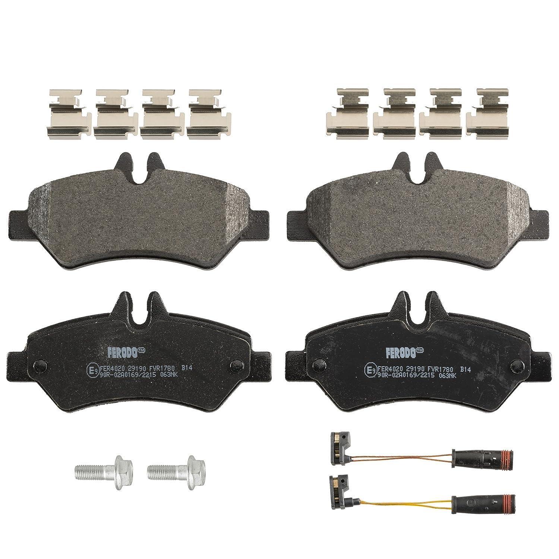Scheibenbremse FERODO FVR1780 Bremsbelagsatz