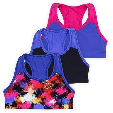 86f2f44c8d1b Layla Racerback Crop Top, Gymnastics & Dancewear, Tagless, Wear on Its Own  or