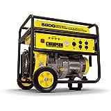 Champion 5500-Watt Portable Generator with Wheel Kit