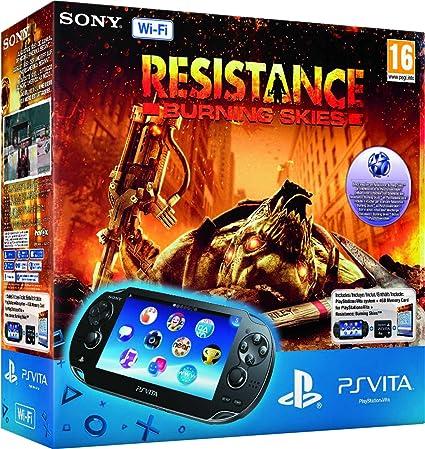 PlayStation Vita (PS Vita) - Console [Wi-Fi] con Resistance ...