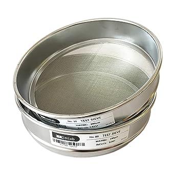 Amazon.com: KimLab Test Sieve 304 - Paño de alambre de acero ...