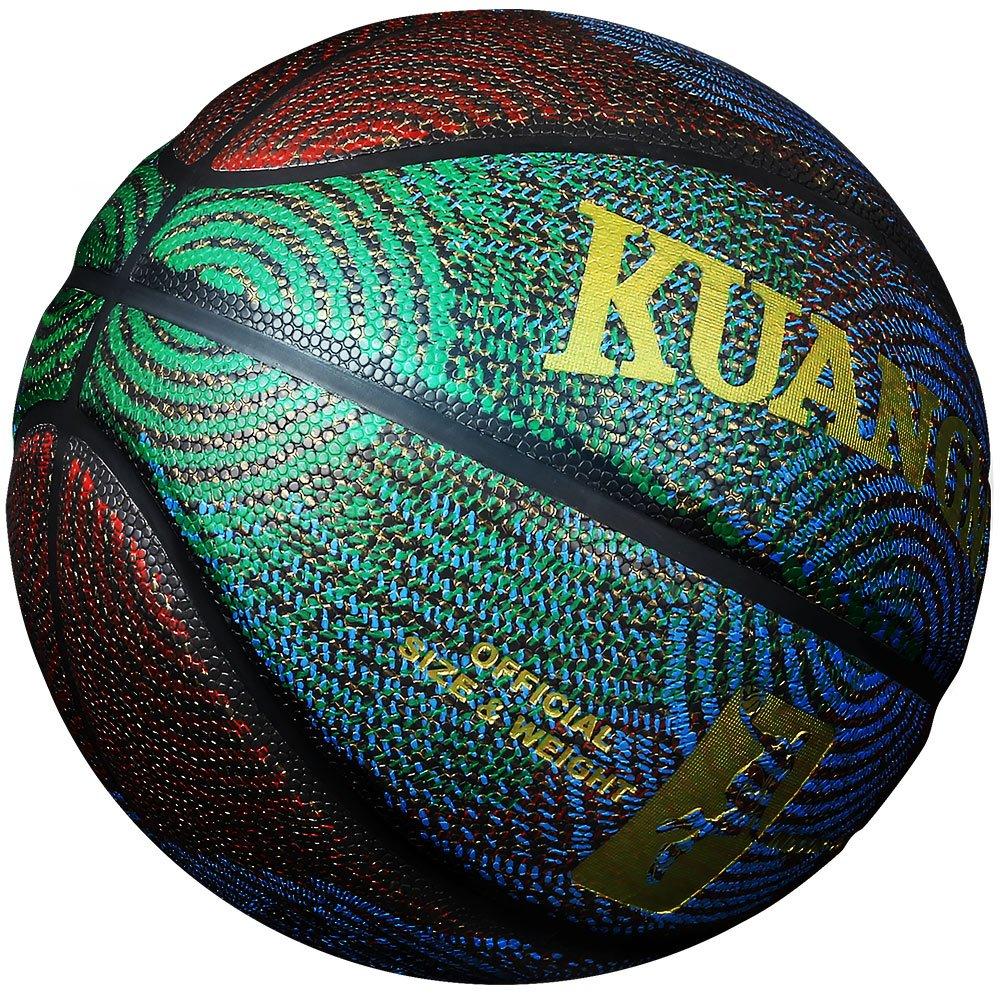 Kuangmi Fashion Cool Street Composite Leder Basketball Ball Größe 6 7 Für Innen-Außeneinsatz