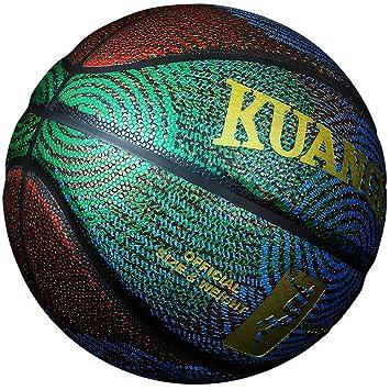 Mode Kuangmi 6 Cuir De Ballon Basket Cool Street Composite 7 Taille 5Rjq3A4L