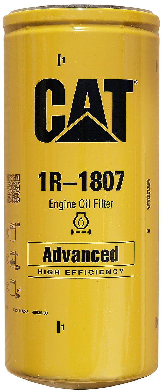 Caterpillar 1r 1807 Advanced High Efficiency Oil Filter Duramax Cat Fuel Pack Of 1 Automotive