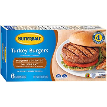 How long to cook turkey burgers on a gas grill