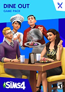 Amazon com: The Sims 4 Dine Out [Online Game Code]: Video Games