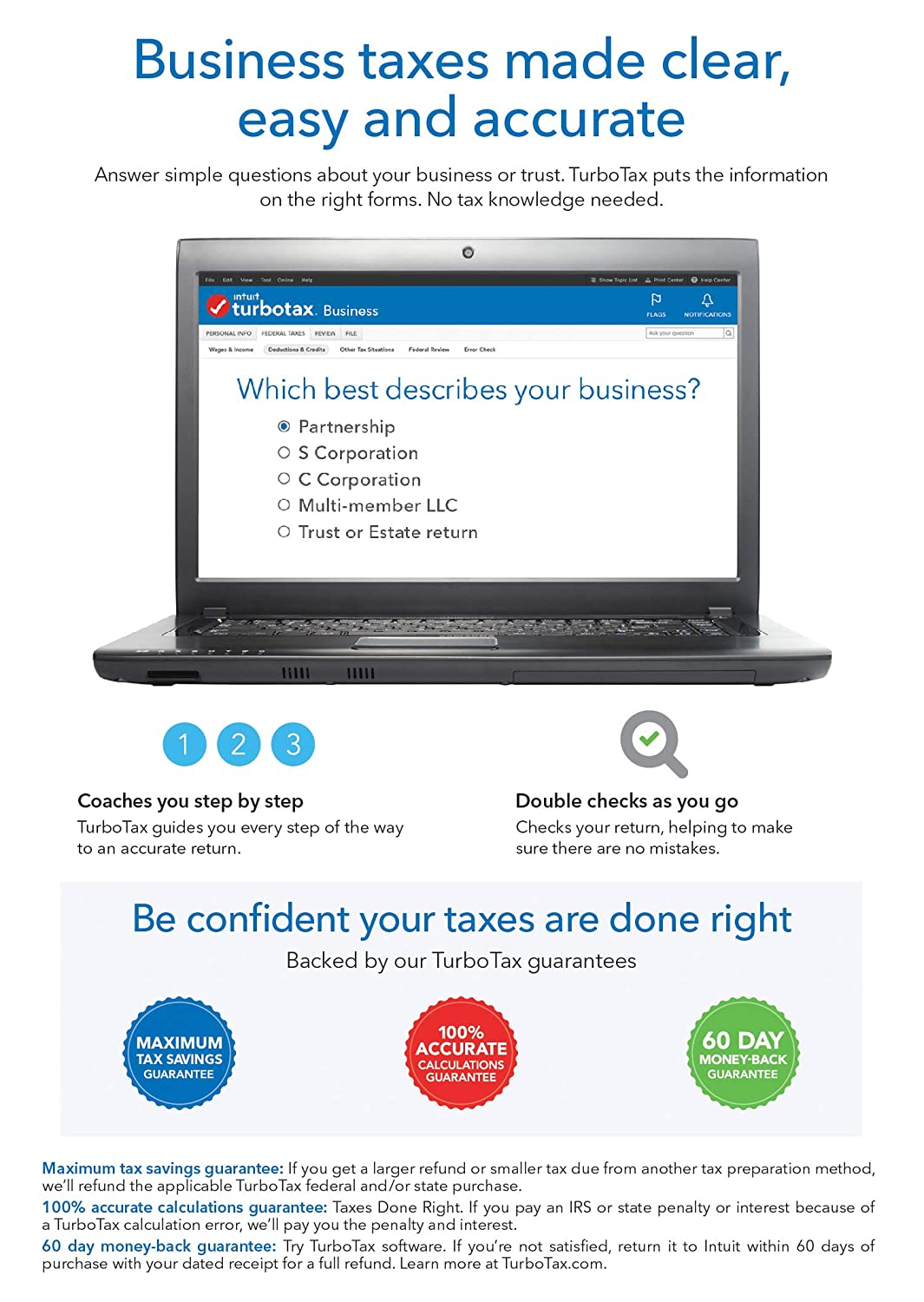 TurboTax Business 2018 Tax Software [PC Download]