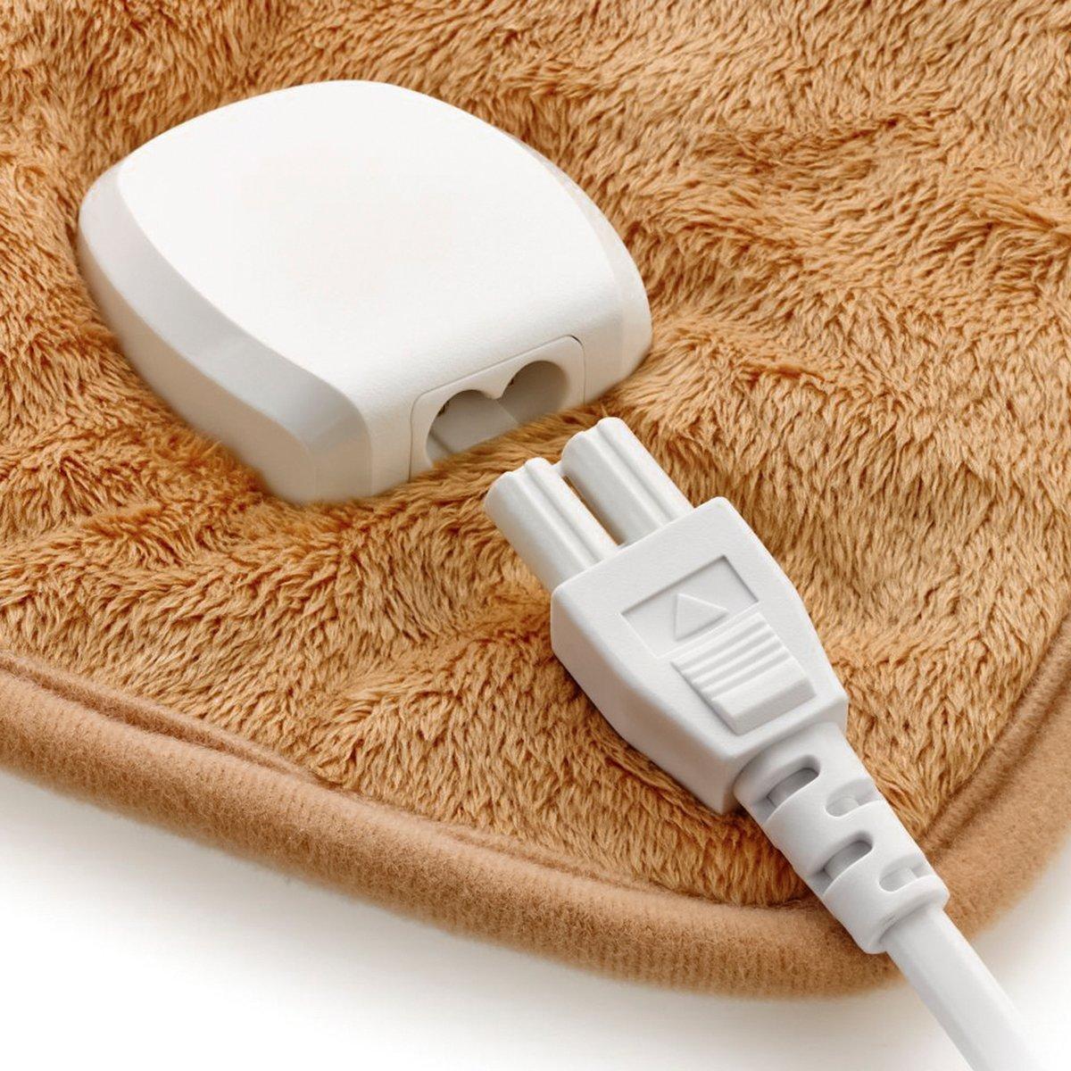 Chaleco almohadilla eléctrica para hombros y espalda: Amazon.es: Salud y cuidado personal