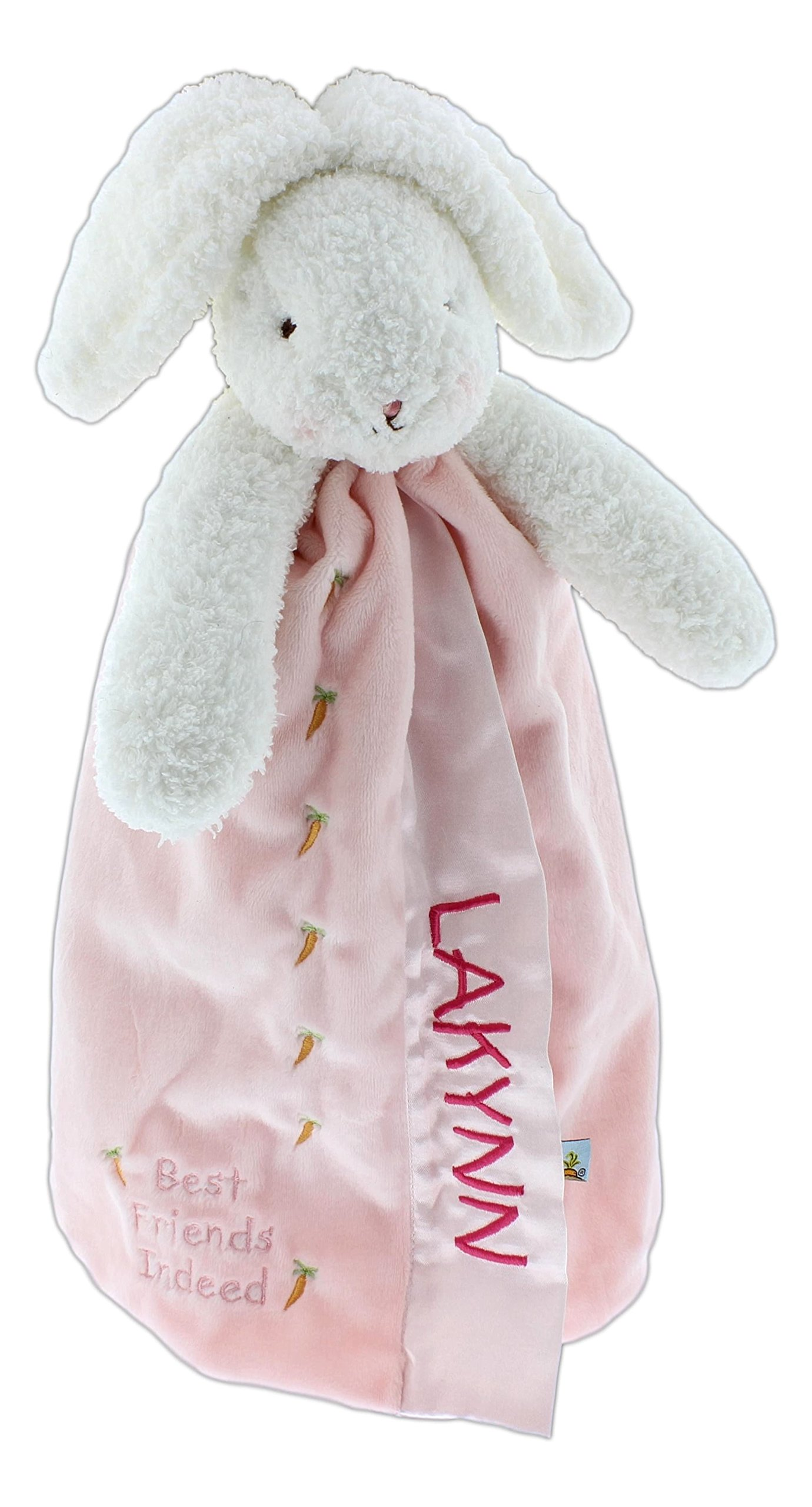 Personalized Embroidered Bunnies by the Bay Buddy Blankets (16'' Blossom Buddy Blanket)