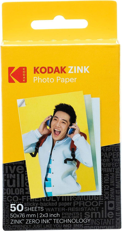 PAPEL FOTOGRAFICO KODAK ZINK KODAK 2X3 (50 U)