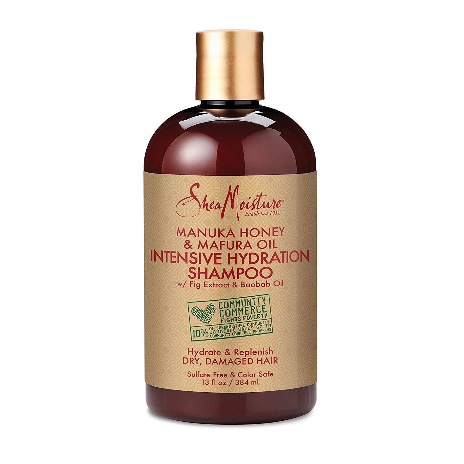 Amazon.com   SheaMoisture Manuka Honey   Mafura Oil Intensive Hydration  Shampoo  27df7e95bb0