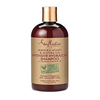 SheaMoisture 13 oz Manuka Honey & Mafura Oil Intensive Hydration Shampoo by Shea Moisture