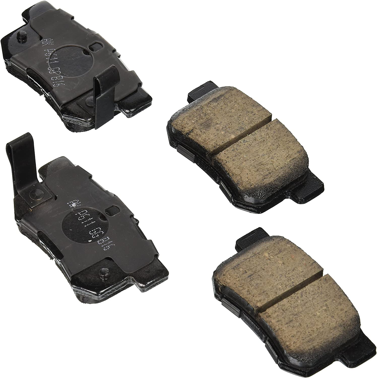Cavalier 1982-2005 Red Hound Auto 2 Clutch or Brake Pedal Pads Covers Compatible with Chevrolet GMC Buick Skyhawk 1982-1986 Sunbird 1986-1994 and More for Manual Transmission