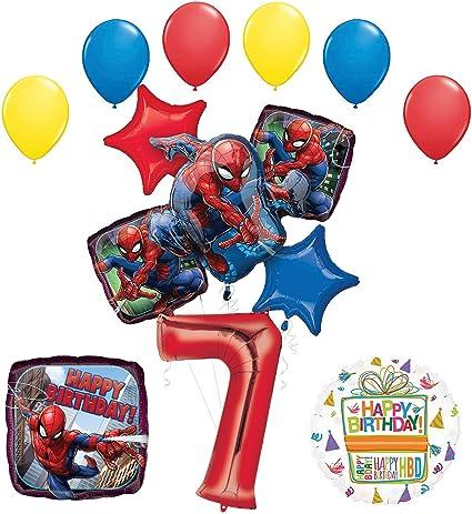 Amazon.com: The Ultimate Spider-Man 7ª Fiesta de cumpleaños ...