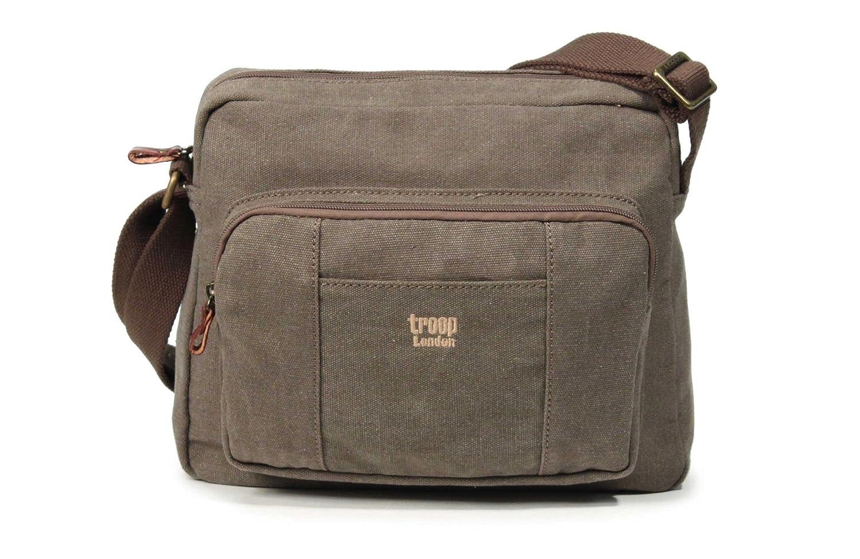 TRP0234 Troop London Classic Body Bag Brown