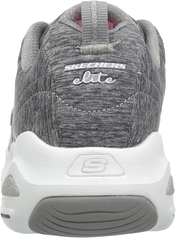 Skechers D\'Lite Ultra-Meditative-12294, Sneaker Donna Grigio Grey