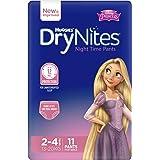 Huggies DryNites Pyjama Pants, Girls, Size 2-4 Years (11 Pack)