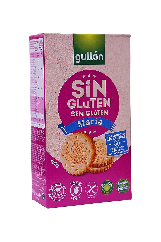 Gullón Maria Sin Gluten Galleta Desayuno y Merienda sin Gluten - 400 gr