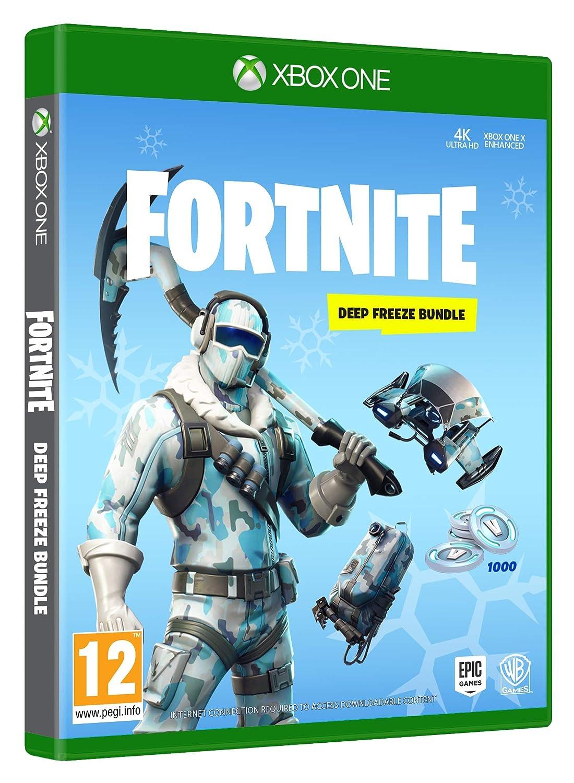 Fortnite Deep Freeze Bundle Xbox One Amazon Co Uk Pc