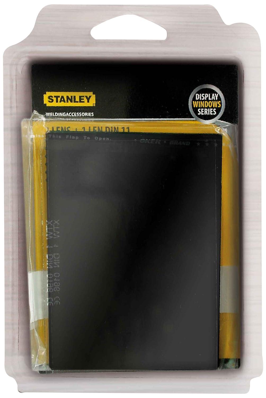 2 unidades, DIN11 Stanley 460403 color transparente Juego de cristales