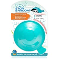 StopShroom STBLU232 Universal Stopper Plug Cover for Bathtub, Bathroom and Kitchen Drains, Aqua