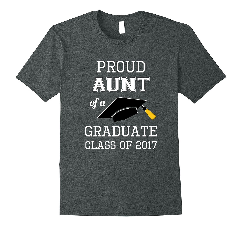 proud aunt shirt graduation gift for niece nephew graduate cd canditee
