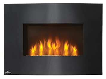 Amazon.com: Napoleon EFC32H Curved Wall Mount Electric Fireplace ...