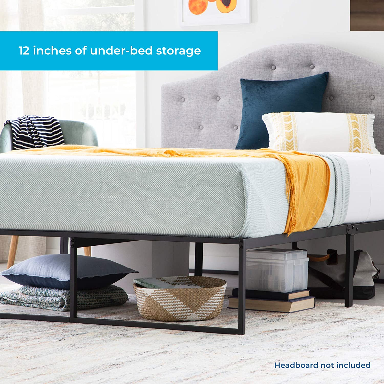 Amazon Com Linenspa Contemporary Platform Bed Frame Full Furniture Decor