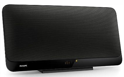 Philips BTM2460 - Microcadena con Bluetooth (multipair, reproduce MP3/CD, USB), color negro