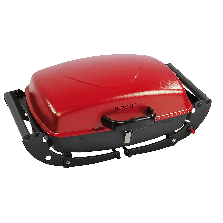 3600 BE NOMAD Domoclip DOC152 Barbecue Gaz Transportable Noir et rouge