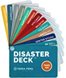 DISASTER DECK - Pocket Size Emergency Survival Cards - Survival Guide & Emergency Preparedness with Instructions for…