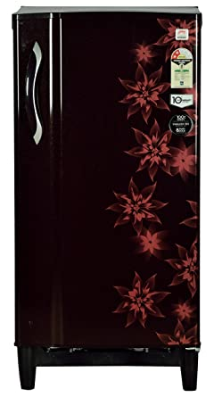 Godrej 185 L 2 Star Direct Cool Single Door Refrigerator(RD Edge 185 E3H 2.2, berry bloom)