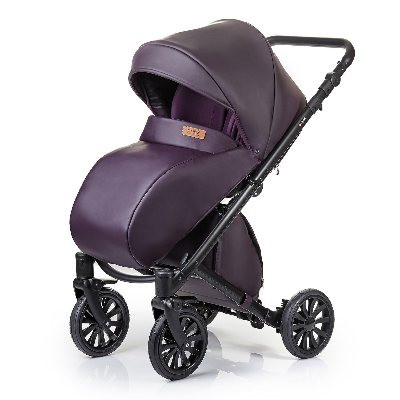 Anex para sillita de bebé Cruz sistema 2 in1 + adaptadores de viaje para asientos de coche: Maxi-Cosi Cybex Kiddy ser seguro CR09_DARK PLUM: Amazon.es: Bebé