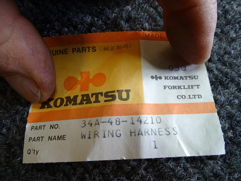 Komatsu Forklift Wiring Harness 34a 48 14210 Brand New Home Improvement