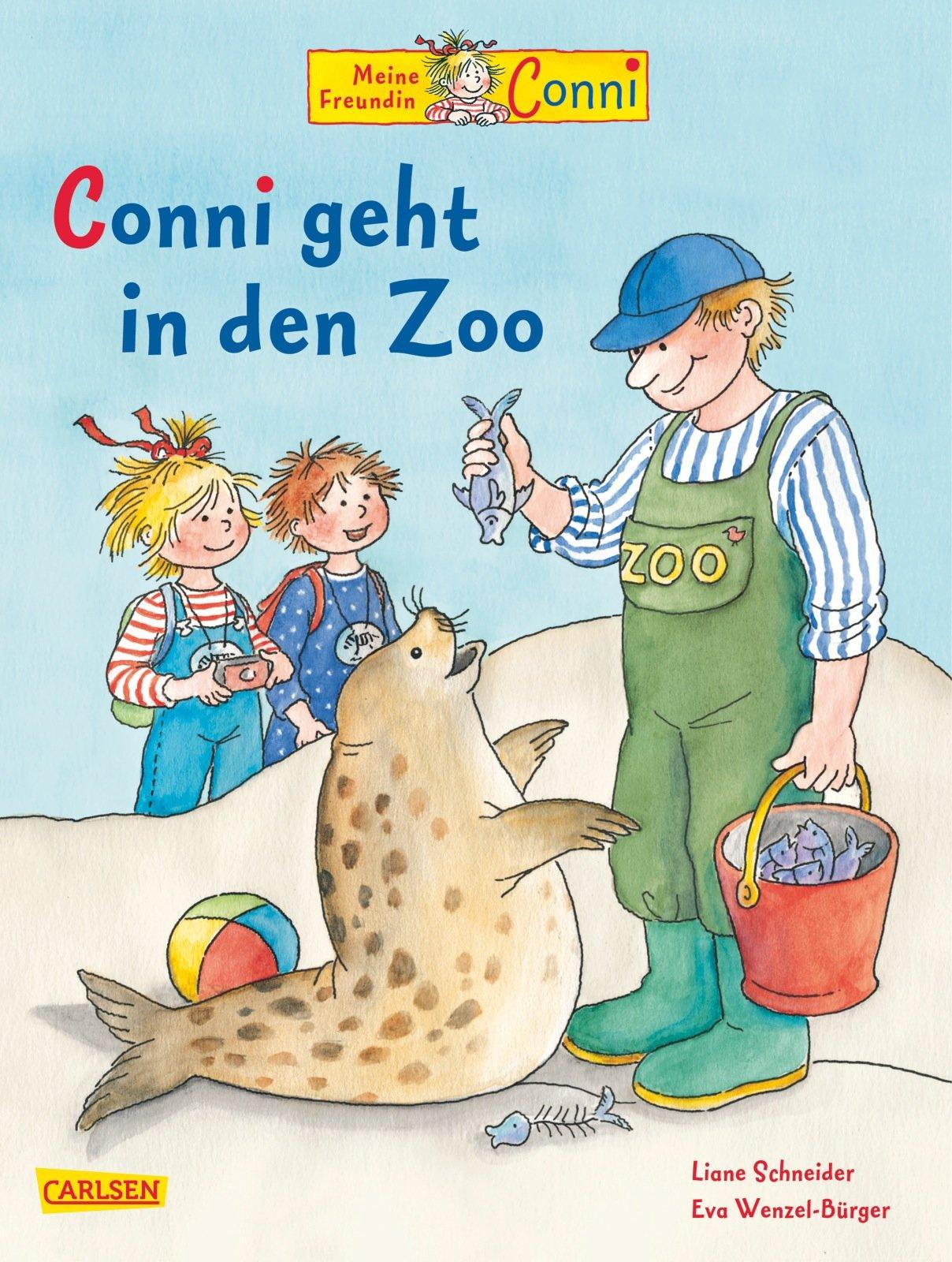 Conni-Bilderbücher: Conni geht in den Zoo