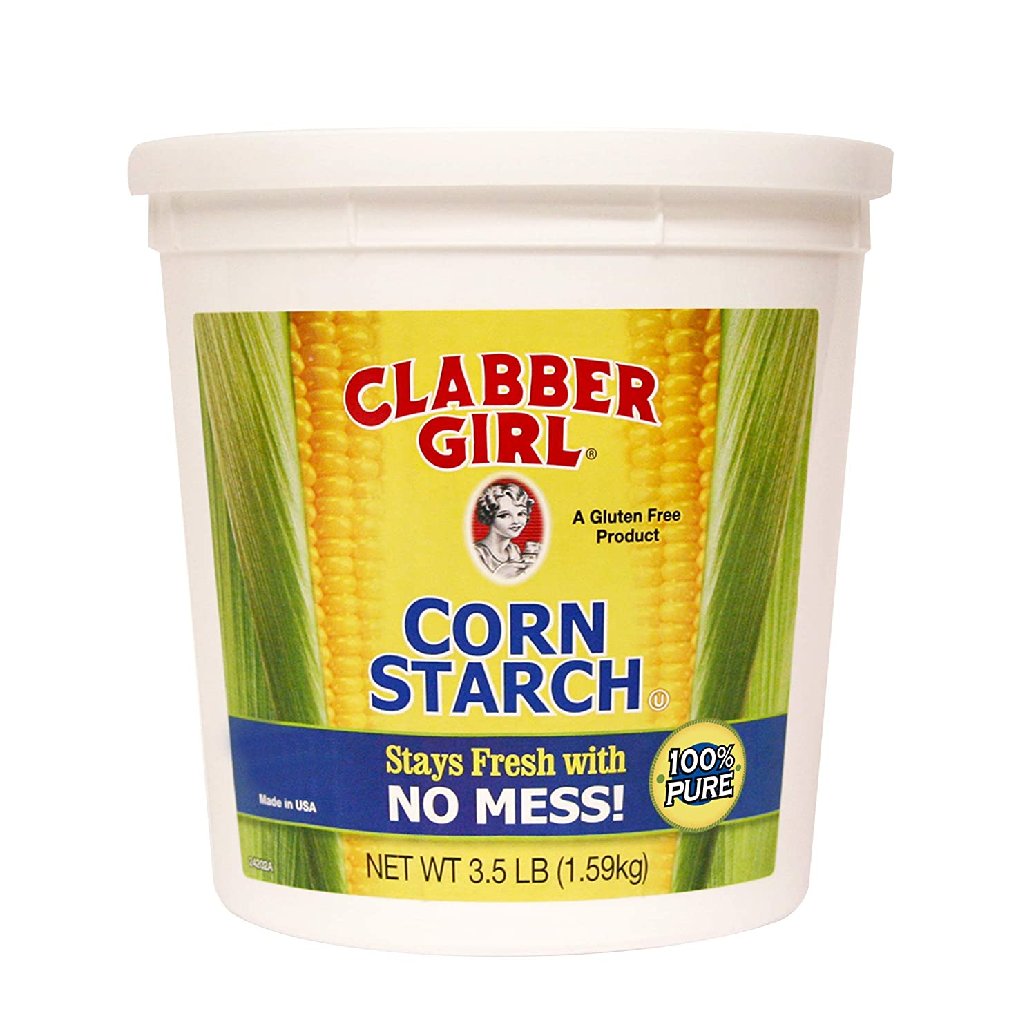 Clabber Girl, Starch, 3,5 lb: Amazon.com: Grocery & Gourmet Food