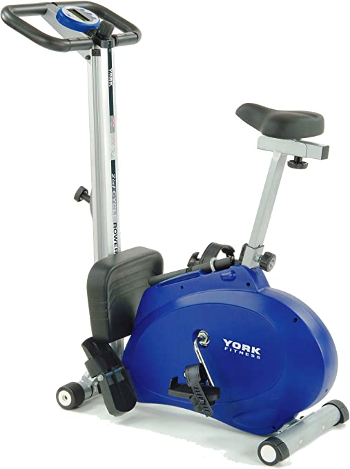 Image result for york 2 in 1 combination cycle/rower )