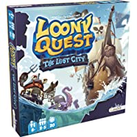 Asmodee LIBQU02FR - Loony Quest Lost City Extension 1