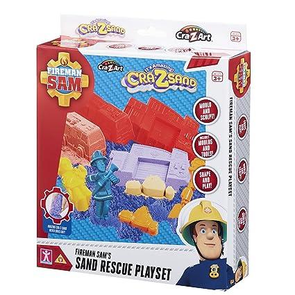 Amazon.com: Cra-Z-Sand Arena 13982 Fireman Sam Rescue Set ...