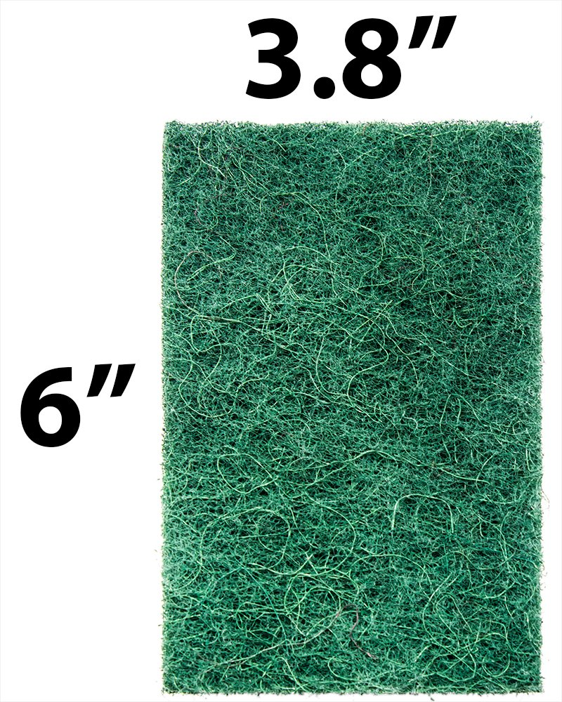 Heavy-Duty Scour Pad 60 Pack: High Abrasive Rating for Intense Scrubbing. 3.5 x 6. Best Used for Baked-On Messes. Restaurant & Commercial-Grade Scouring Pads. Bulk Wholesale Pack. by Avant Grub (Image #4)