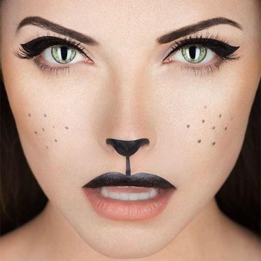 Halloween Eye Makeup Tutorial (Cat Eye Makeup Tutorial)
