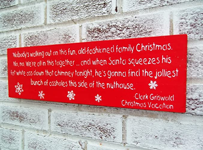 christmas decorations old fashioned family christmas christmas vacation griswold sign