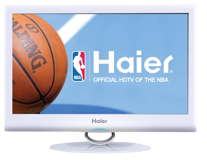 Amazon.com: Haier HLC24XSLW2 24-Inch Ultra Slim 1080p LED LCD TV DVD Combo,  White: Electronics