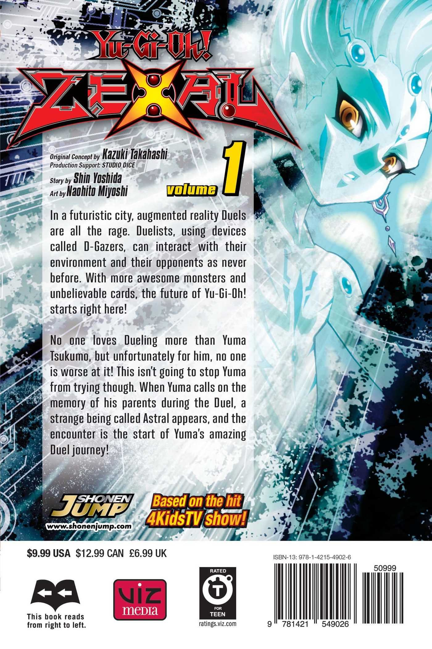 Amazon com: Yu-Gi-Oh! Zexal, Vol  1 (9781421549026): Kazuki