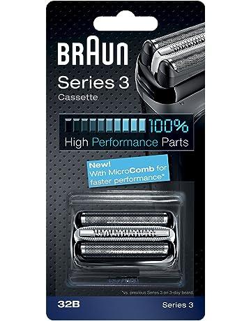 Braun 32B - Recambio para afeitadora eléctrica hombre Series 3, también compatible con Series 3