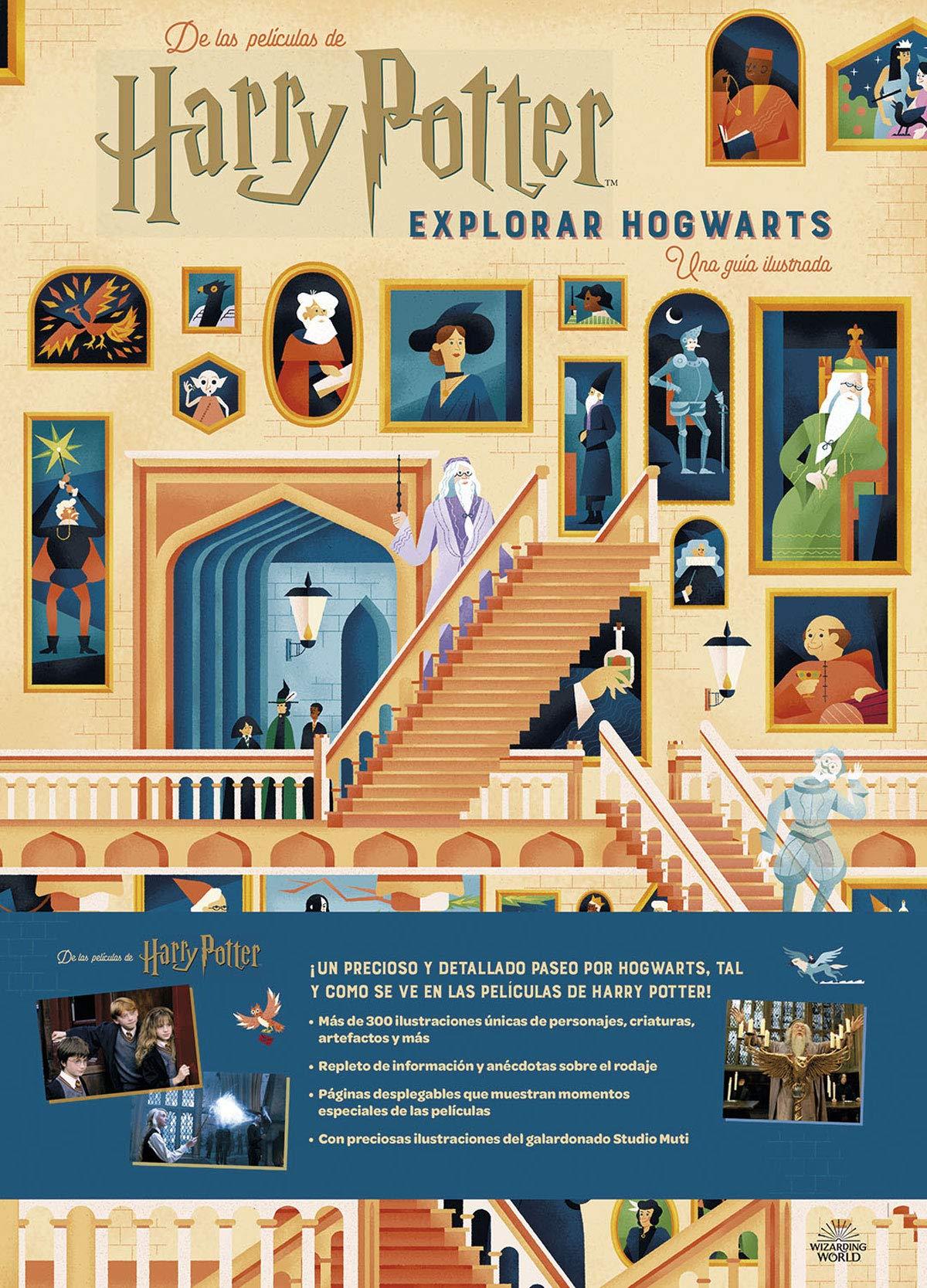 Harry Potter: explorar Hogwarts (Spanish Edition): Amazon.es ...